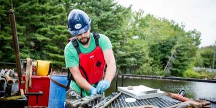 Dam Foundation Investigation, Halifax Water, Lake Major