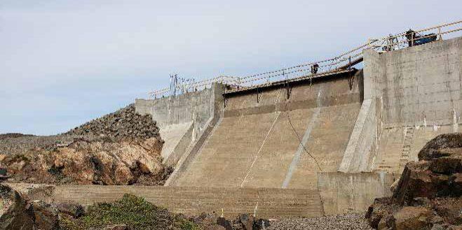 Lake Geraldine Dam
